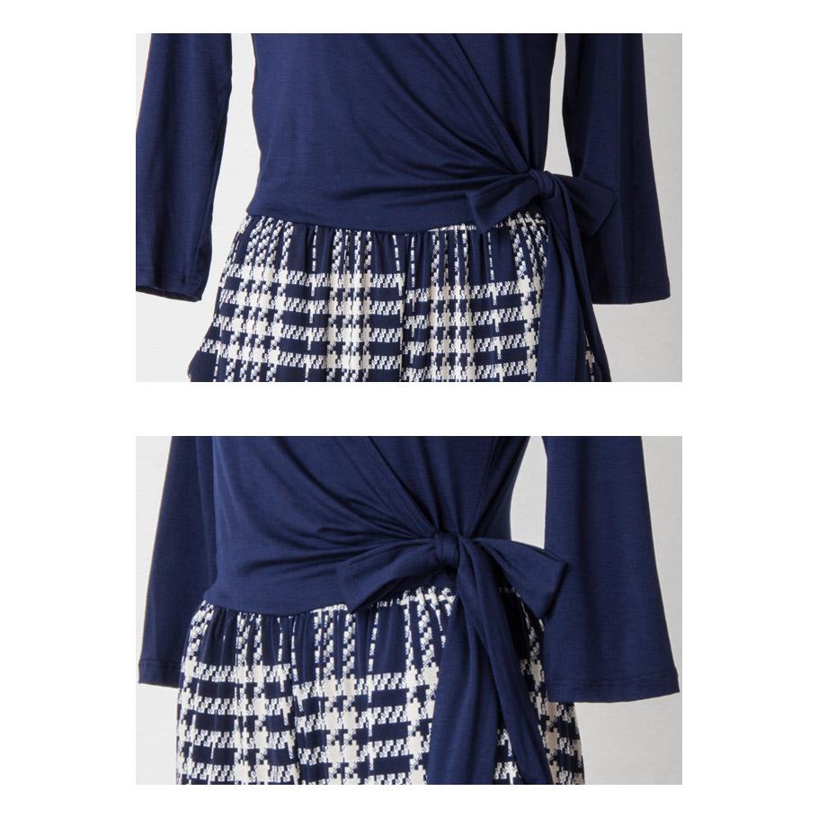 (SALE) カシュクールシャツ風テーパードオールインワン/パンツドレス -ls-gl-js006 【LA直輸入★インポート】