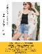 花柄シフォンドルマンカーディガン【LA直輸入★インポート】-la-adr-cd021