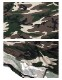 Janette Fashion七分袖カシュクールカモフラ柄 アーミー柄 迷彩柄マキシワンピース【LA★インポート】-la-jf-op413