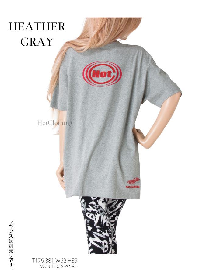 HotClothingオリジナル ロゴプリント ビックTシャツ メンズXL -hot-t003