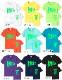 20 years since 2001 HotClothingオリジナル HotマークロゴプリントTシャツ -hot-t005