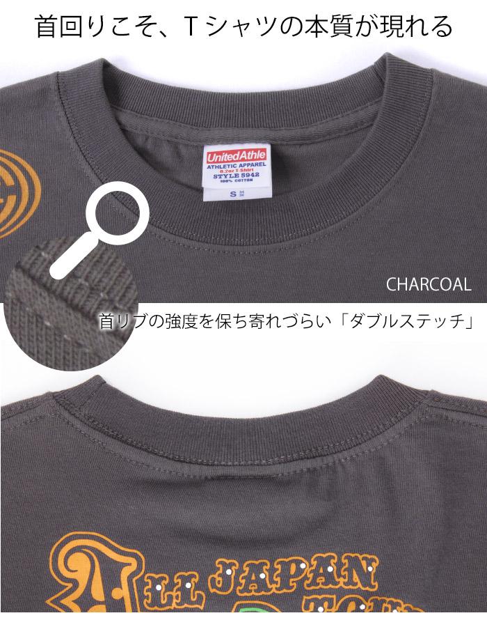 Mens HotClothingオリジナル 復刻 スカルプリントスタッフTシャツ -hot-t008