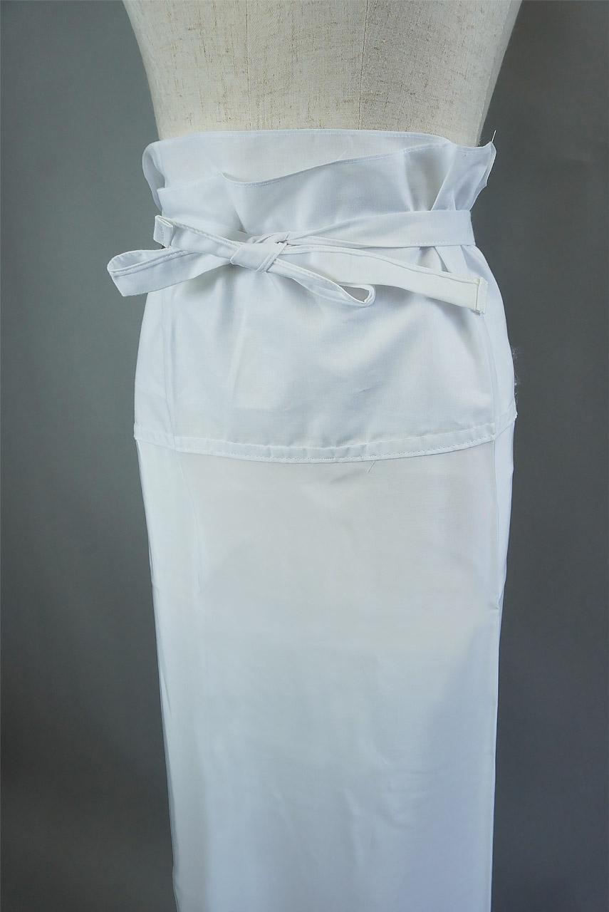【抗菌防臭加工】裾よけ ベンベルグ&#127276;<br>【LLサイズ】