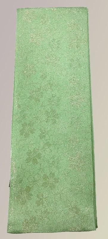 重ね衿 縫い取り桜