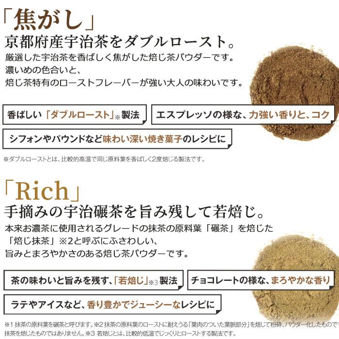 ほうじ茶パウダー「Rich」 山政小山園 「Rich」1kg袋