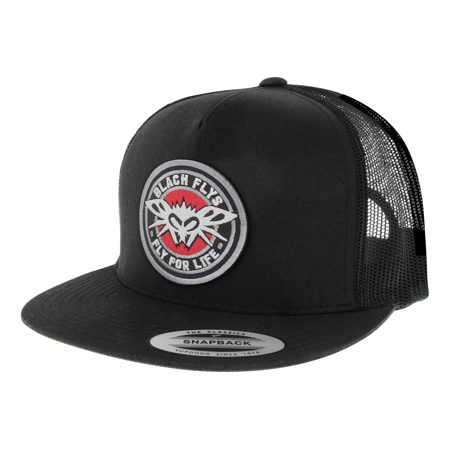 FLY 4 LIFE PATCH TRUCKER CAP