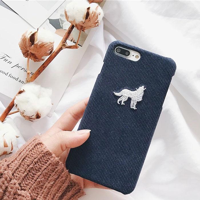 [スマホケース/iPhoneケース]【3D Cute Sheep Penguin Teddy Dog iphone case】ヒツジ ペンギン プードル トナカイ 刺繍 モコモコ ループヤーン iphone6・iPhone6s・Plus・iphone7・iPhone8/SE・X・XS・XSMax・XR 対応■メール便で送料無料■[M便 1/3][YP2]