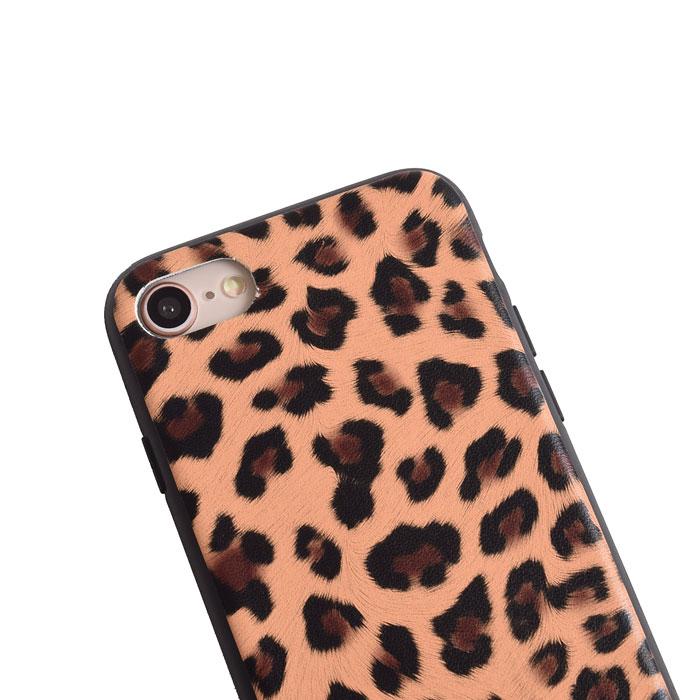 [スマホケース/iPhoneケース]【Vintage Leopard Print Soft TPU Phone】レオパード・ヒョウ柄・アニマル・クラシカル・ソフトTPU・iphone6・iPhone6s・Plus・iphone7・iPhone8/SE・iphoneX 対応・携帯電話ケース[18A]■メール便で送料無料■[M便 1/3][YP2]