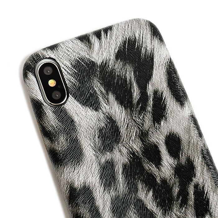 [スマホケース/iPhoneケース]【Soft Leopard Patterned Phone Case】レオパード・ヒョウ柄・アニマル・高級感・ソフト・クール・iphone6・iPhone6s・Plus・iphone7・iPhone8/SE・iphoneX 対応・携帯電話ケース[18A]■メール便で送料無料■[M便 1/3][YP2]