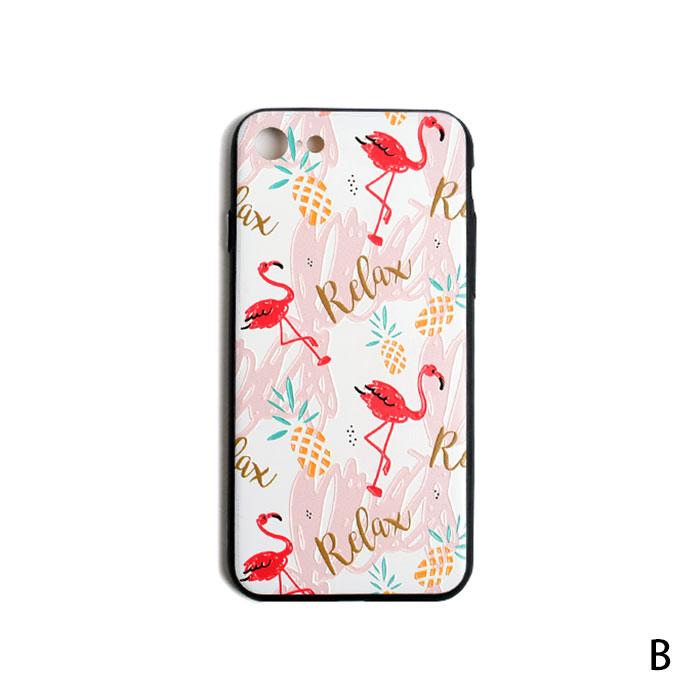 [スマホケース/iPhoneケース]【Pineapple Flamingo iPhone Case】フラミンゴ・フルーツ・パイナップル・スイカ・トロピカル・iphone6・iPhone6s・Plus・iphone7・iPhone8/SE・iphoneX 対応・携帯電話ケース[18A]■メール便で送料無料■[M便 1/3][YP2]