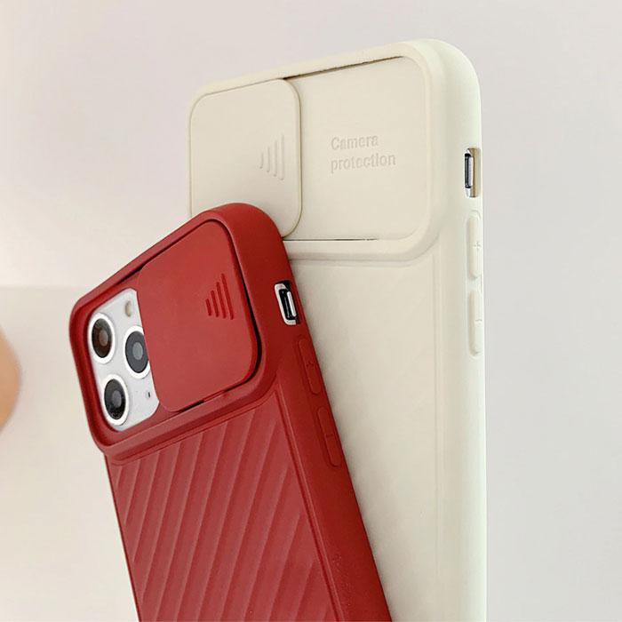 [スマホケース/iPhoneケース]【Camera Protection Phone Case】スライド式 カメラレンズ保護 レンズプロテクト ソフトシリコン シンプル 無地 iPhone11 iPhone11Pro iPhone11ProMax 携帯電話ケース■メール便で送料無料■[M便 1/3][YP2]