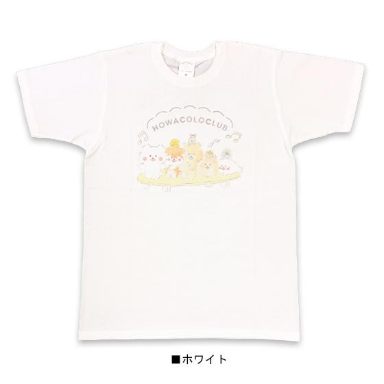 ほわころくらぶ 天竺クルーネック半袖Tシャツ(なかま)