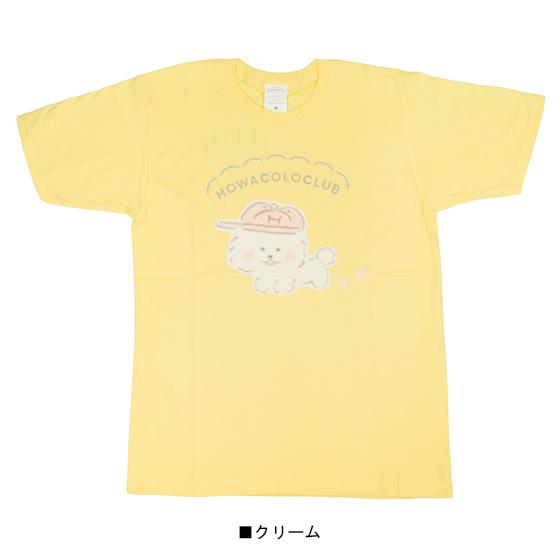 ほわころくらぶ 天竺クルーネック半袖Tシャツ(ほわころちゃん)