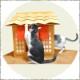 猫 トイレ カバー ハウス | ネコハウス ねこ ネコ おしゃれ 雑貨 ゲージ 猫グッズ おもちゃ ペット ネコ砂 砂 ネコトイレ キャットタワー おしっこ グッズ ケース ベッド ネコケージ ねこ用 ネコ用 猫用 キャット用 ネコ用トイレ 猫用トイレ