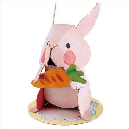 うさぎ/ねこ/くま/ぶた/きょうりゅう(hacomo)【メール便で送料無料/クレジット決済のみ】