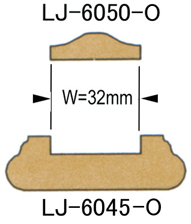 輸入階段材 L.J.スミス シューレール 木製 レッドオーク 無塗装 LJ6045 C 長さ1829/3658mm