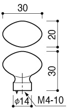 河淳 ツマミ  PZ-112