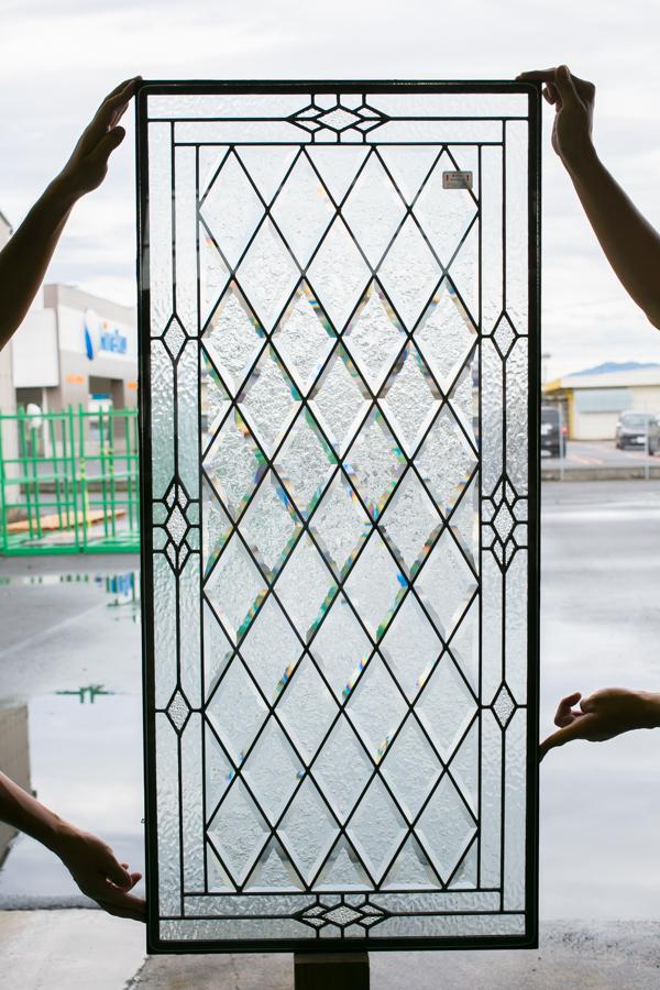 輸入ファイバーグラス製ドア ディスティンクション外部ドア 高耐久・高断熱仕様  CANTERBURY-30 W908xH2007mm ※ドア枠込・塗装サービス有り