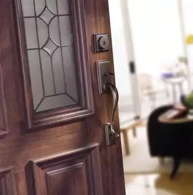 クィックセット 外部ドアロック (室外側) ホーソロン 800HE ベネチアンブロンズ(US11P)