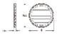 ウレタン製装飾材 ファイポン ラウンドルーバー RLV 巾/高さ406mm〜 厚み41mm