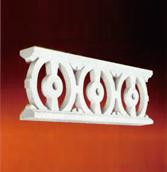 ウレタン製装飾材 ファイポン ポーチスパンドル PRS96X8 巾2477mm x 高さ210mm x 厚み73mm デザインリピート/206