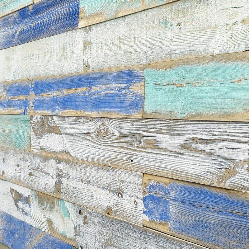 サスティナブルかつカーボンフリーな壁パネル スノーフェンス古材 Wind River 幅=約100mm 1束=約1.8m2入り