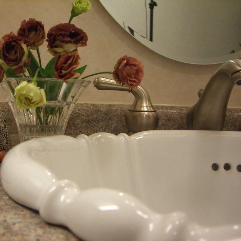 【海外スタイル】洗面ボウル スタンダードシリーズ HPB2501 プレーンホワイト 503x410mm 約9kg 陶器製