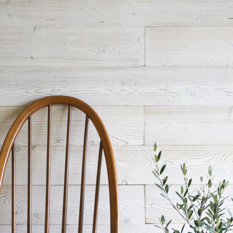 天然木壁パネル ソリデコ WHITE BRASH 4x128x1180mm 1ケース(11枚=1.66m2入り)