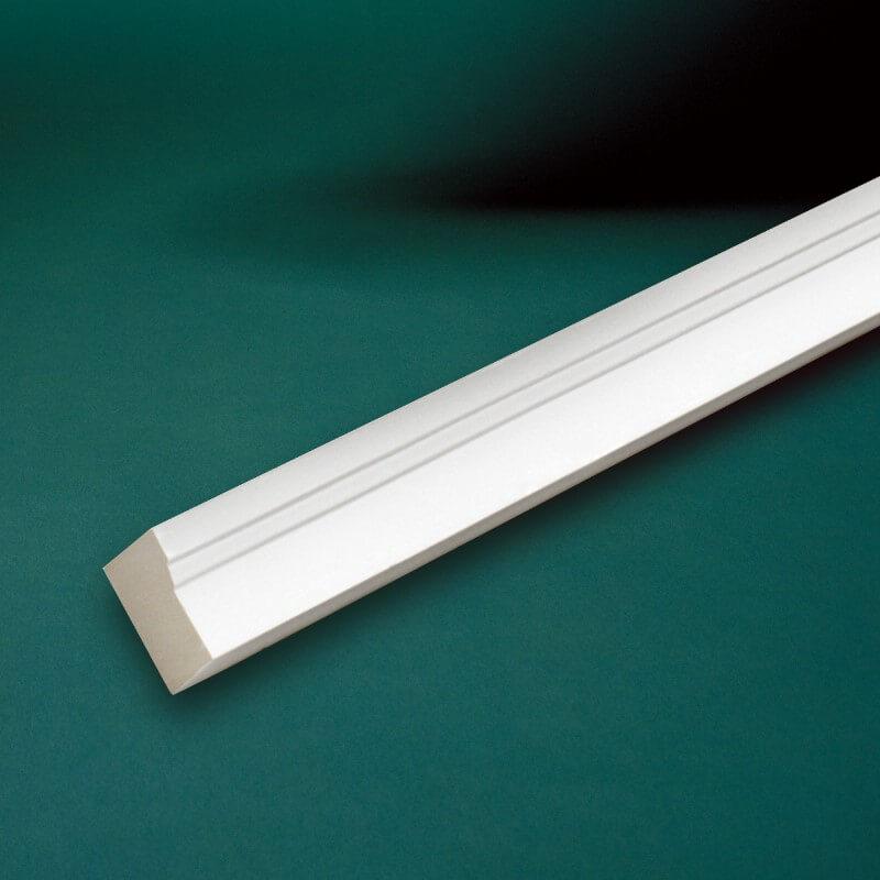 ウレタン製モールディング ファイポン MLDWM180 装飾材 ブリックモールド 厚み32mm(27mm) x 巾51mm x 長さ2438/3658mm