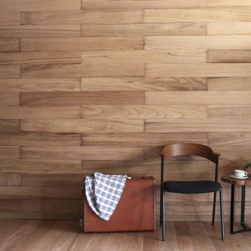 天然木壁パネル ソリデコ KIRI CLEAR 4x128x1180mm 1ケース(11枚=1.66m2入り)
