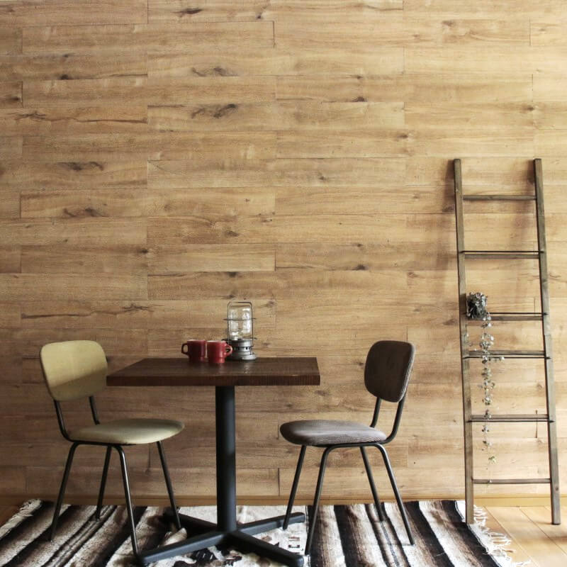 天然木壁パネル ソリデコ OAK NATURAL 4x128x1180mm 1ケース(11枚=1.66m2入り)