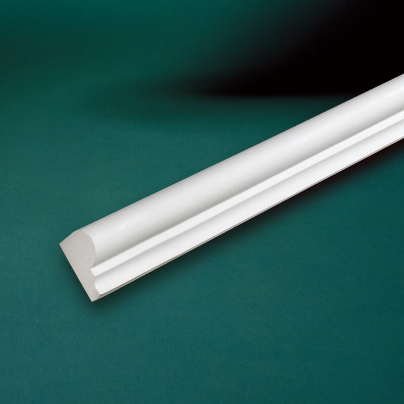 ウレタン製モールディング ファイポン MLD610-8 装飾材 チェアレール 厚み38mm(13mm) x 巾60mm x 長さ2438mm