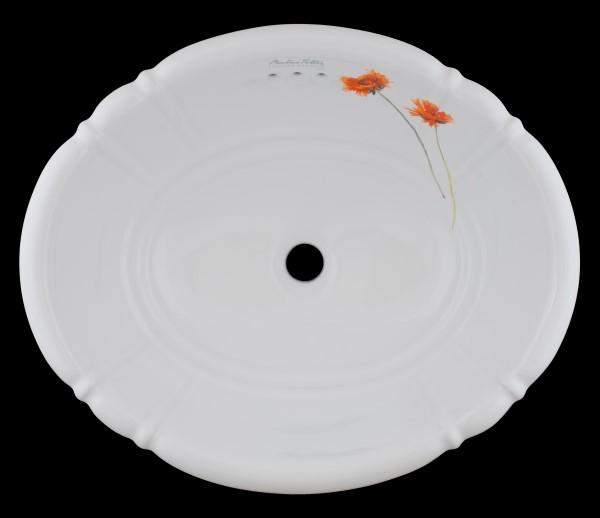 【海外スタイル】洗面ボウル  ビアトリクス・ポター™イングリッシュガーデンシリーズ EGB2703 503x410mm 約9kg 陶器製