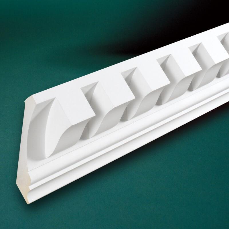 ウレタン製モールディング ファイポン MLD440-12 装飾材 厚み165mm(10mm) x 巾191mm x 長さ3658mm