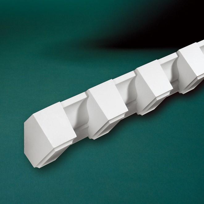 ウレタン製モールディング ファイポン MLD360-8 装飾材 厚み89mm x 巾95mm x 長さ2438mm