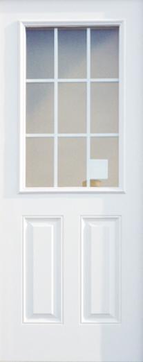 輸入ファイバーグラス製ドア ディスティンクション外部ドア 高耐久・高断熱仕様  S31G-28 OBN 型ガラス W806xH2007mm ※ドア枠込・塗装サービス有り