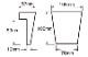 ウレタン製装飾材 ファイポン キーストン K4TF 上部巾108mm(下部巾76mm) x 高さ108mm x 上部厚み57mm(下部厚み13mm)