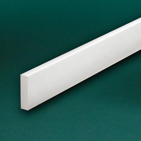 ウレタン製モールディング ファイポン フラットトリム FLT 装飾材 厚み25mm x 巾89/102/140mm 長さ3658mm