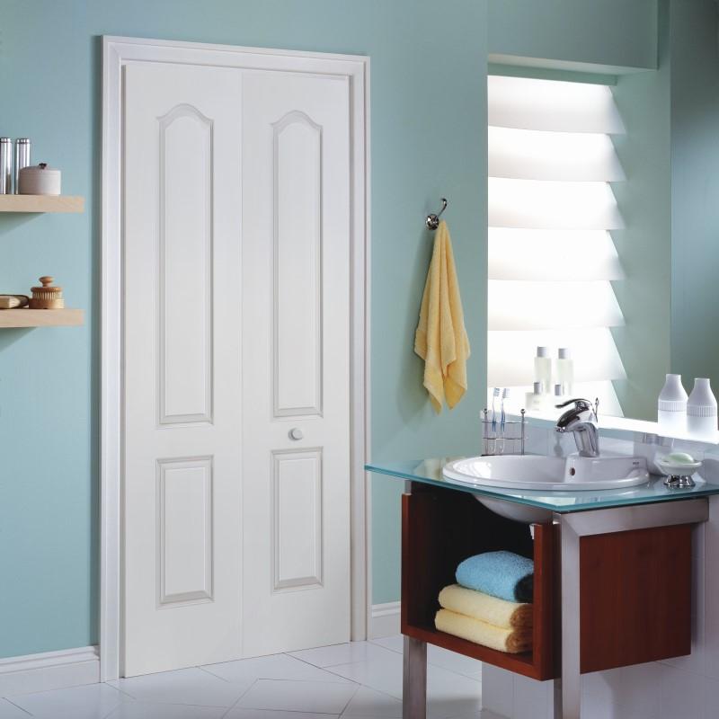 【リーズナブルな輸入ドア】クローゼットドア ATBF レール・金物・木製取手付 W756xH2007mm ※ドア枠込・塗装サービス有り
