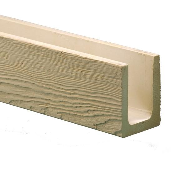 ウレタン製装飾材 ファイポン 木目調ビーム BMM6X8X144RDW 外巾140mm(内巾102mm) x 高さ191mm x 長さ3658mm