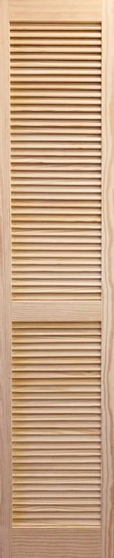 【パインドア】木製ドア バイフォールドタイプ単体 クリアパイン P1423 フルルーバー W301.5/377.5/403.0/453.5 x H2012mm