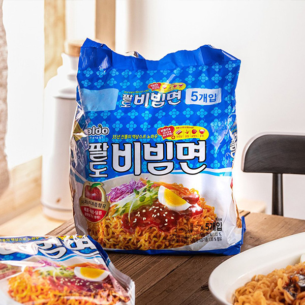 [Paldo] パルド ビビン麺 / 130gマルチパック (5個入) 甘辛 韓国ラーメン