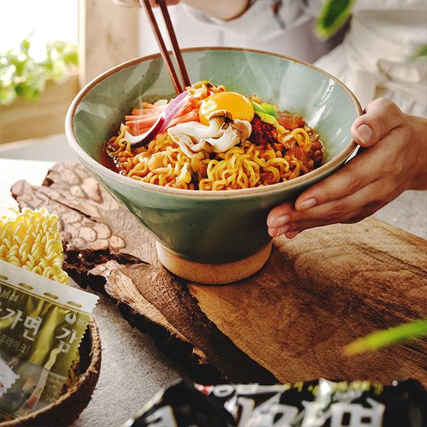 [農心] ジャガイモ麺 / 117g×5個入りパック もちもち韓国ラーメン