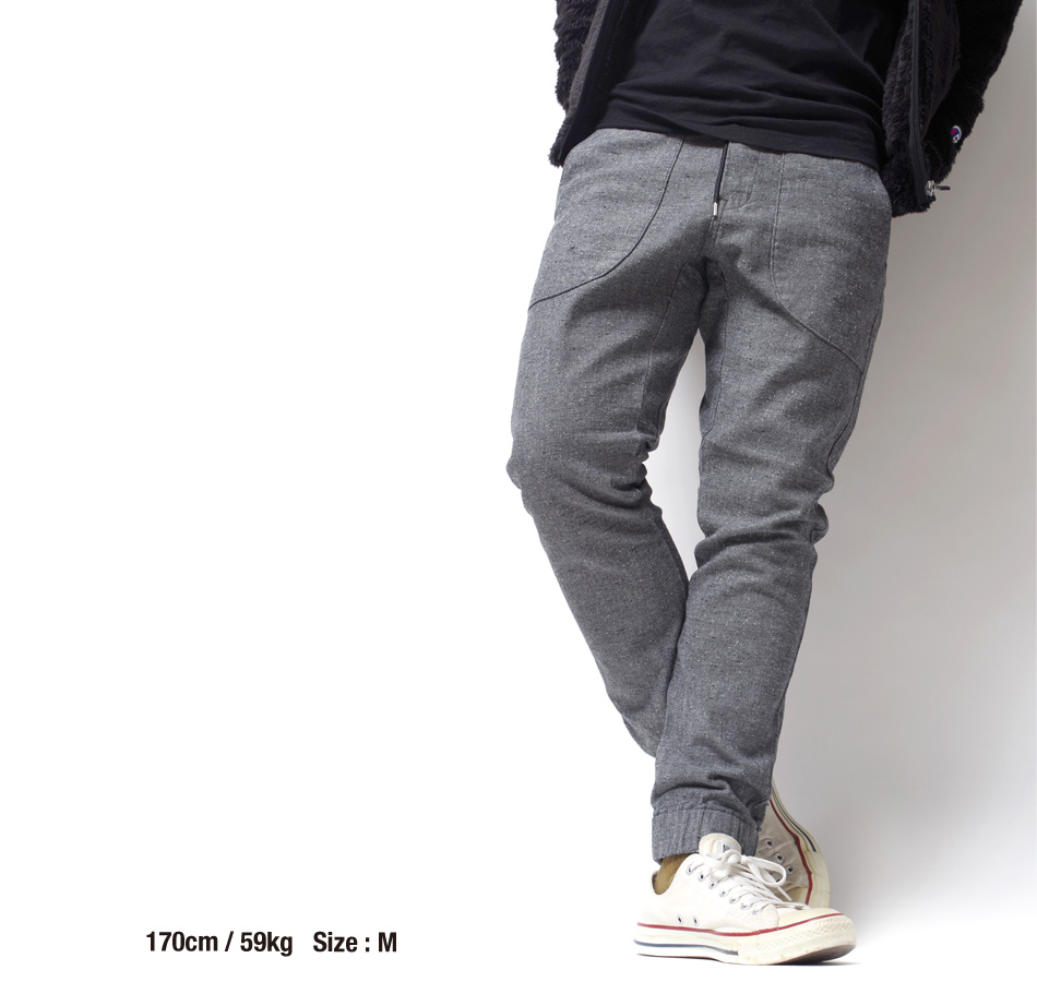 "【4/29 0:00-5/11 23:59 10%OFF!】【BLUE PORT】 STRETCH RELAX PANTS ""MARSEILLE"""