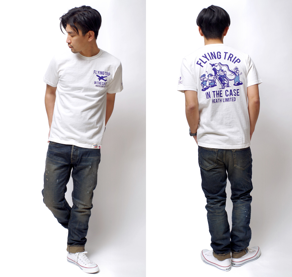 【STUDIO D'ARTISAN x KNACKERED】GHOSN US COTTON T-SHIRT