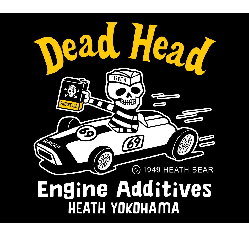 【HEATH.BEAR】DEAD HEAD T-SHIRT