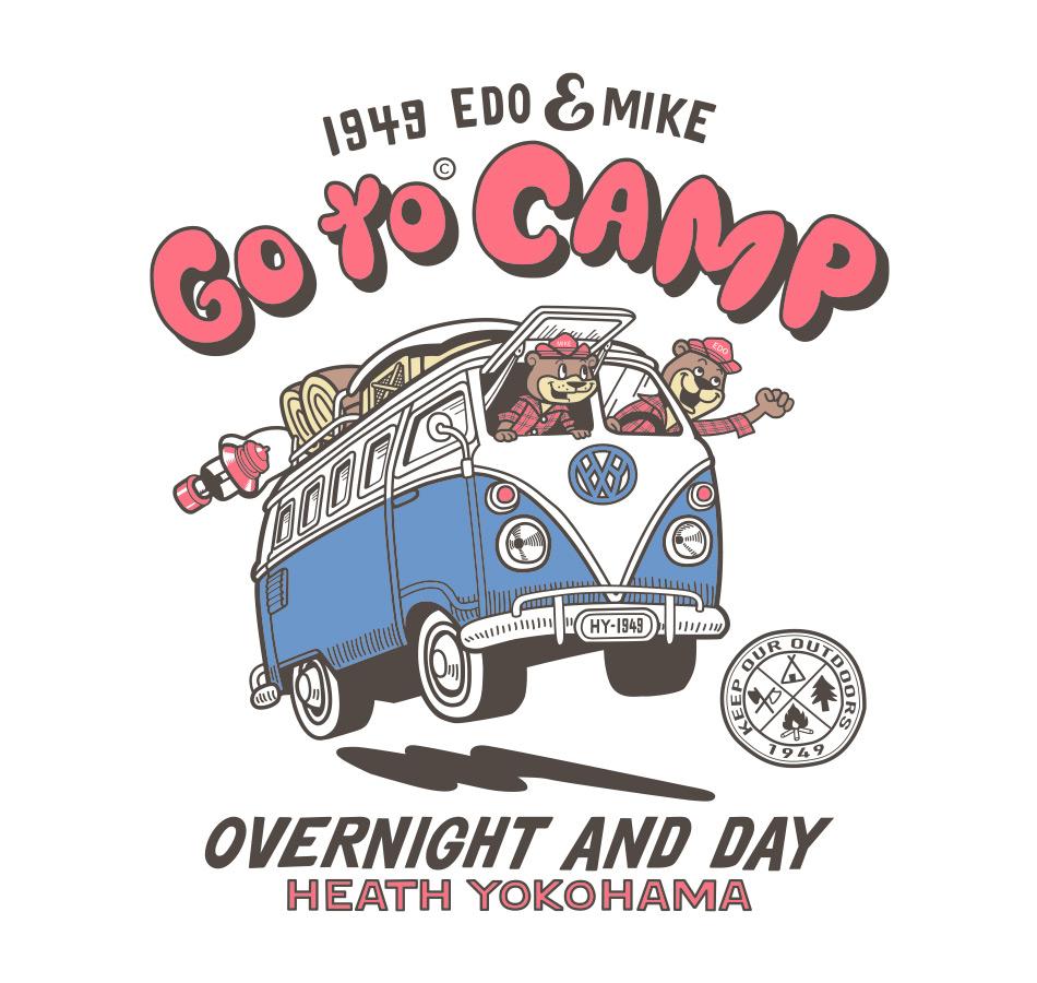 【HEATH.BEAR】CAMP T-SHIRT