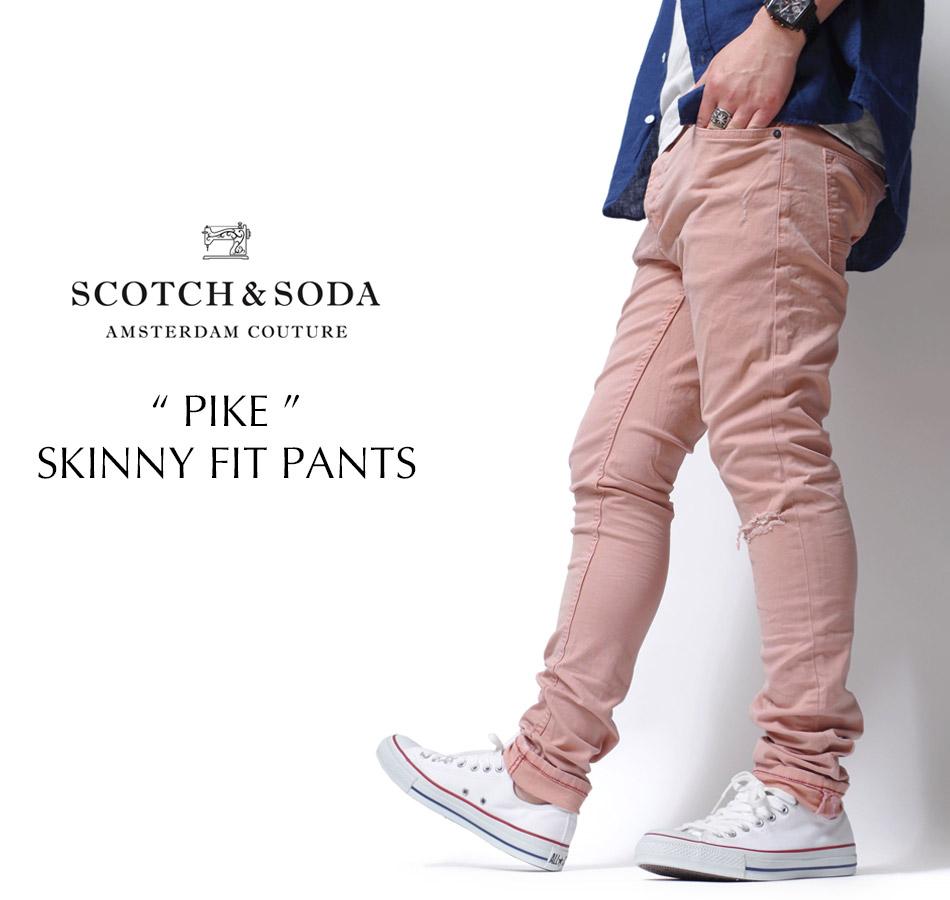 "【SCOTCH&SODA】""PIKE"" SKINNY FIT PANTS"