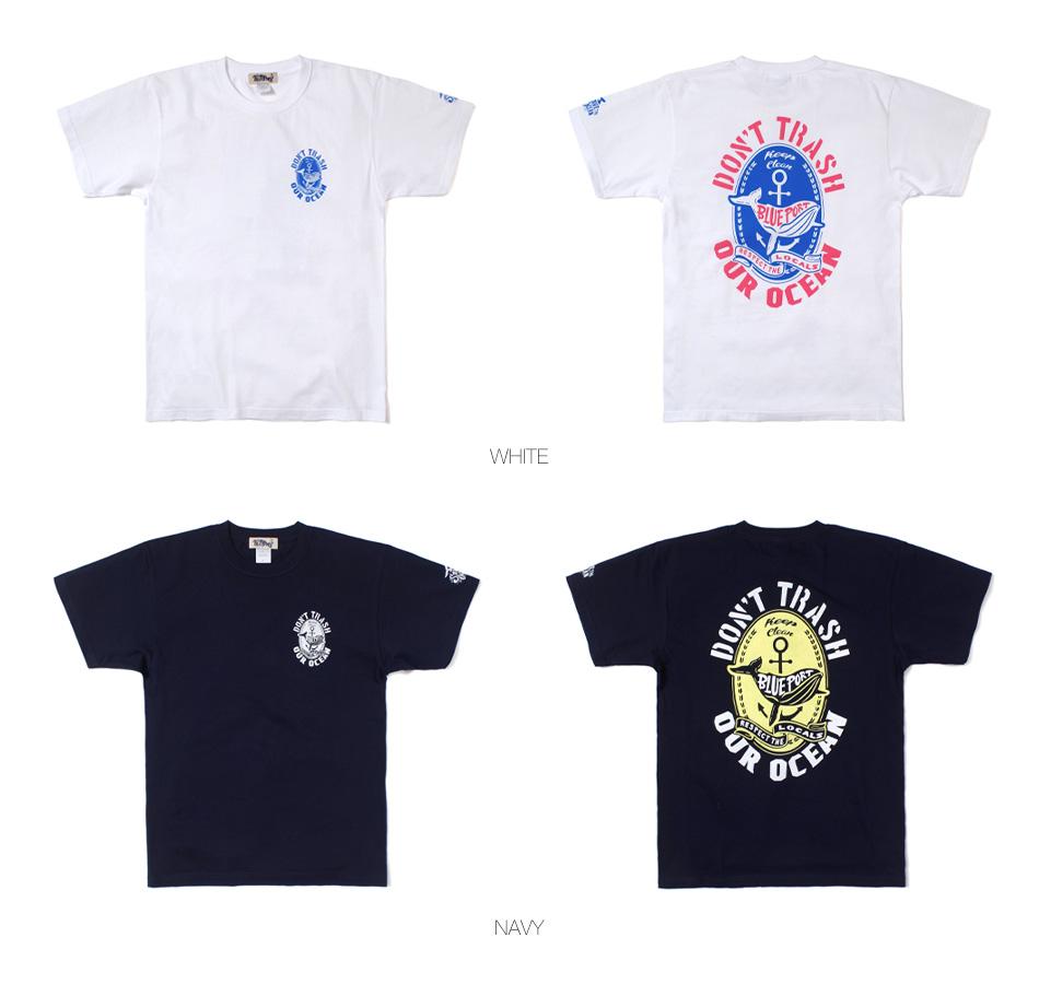 【BLUE PORT】DON'T TRASH T-SHIRT