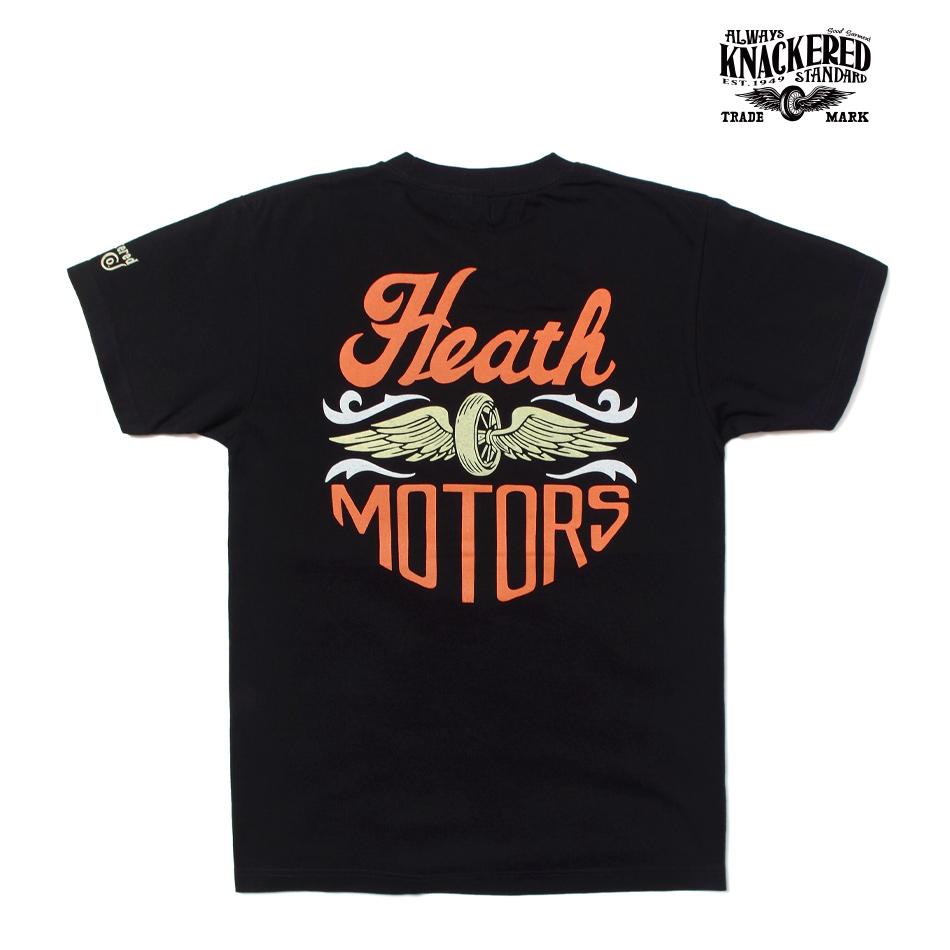【KNACKERED】HEATH MOTORS T-SHIRT